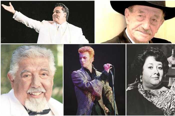 Foto: El Universal. Los famosos que ya se han ido.