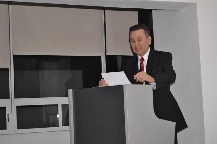 Foto: Adrián Bucio. Ramiro Torres Ramírez (nuevo presidente)