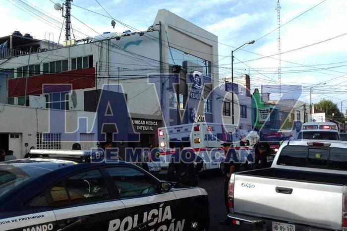 Foto: La Voz de Michoacán. Se-registra-incendio-en-casa-aledaña-al-sanatorio-Cuautla