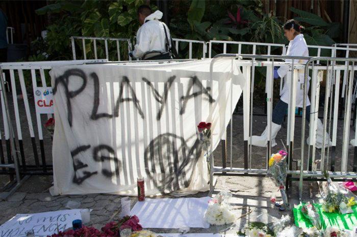 Foto: Agencias. Playa del Carmen amaneció relativamente tranquilo este miércoles, luego de los violentos acontecimientos ocurridos el lunes pasado.