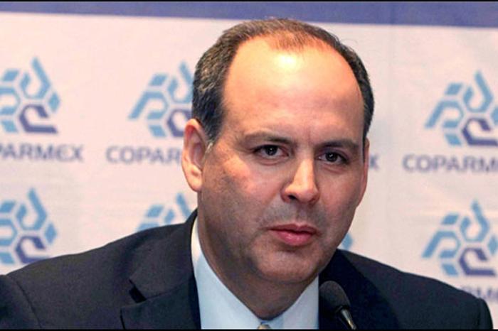 Foto: Agencias. El presidente de la Coparmex opinó más a detalle sobre el acuerdo presentado ayer por Peña Nieto.