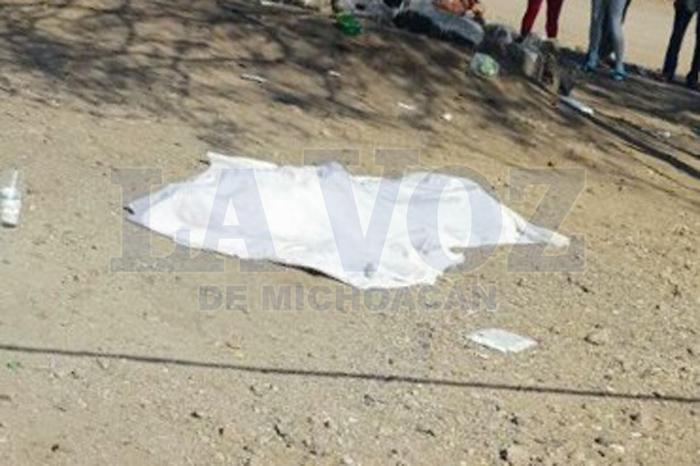 Foto: La Voz de Michoacán. Es ultimado a tiros en San Antonio La Labor.