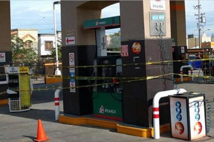 Foto: VICE NEWS. En Mexicali muchas gasolineras han cerrado debido a la falta de combustible.