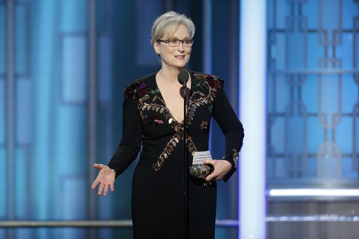 Foto: AP. La actriz también recordó cuando Donald Trump se burló de un reportero con discapacidad.