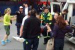 Foto: Agencias. Cuatro de los lesionados estaban graves por heridas en la cabeza.