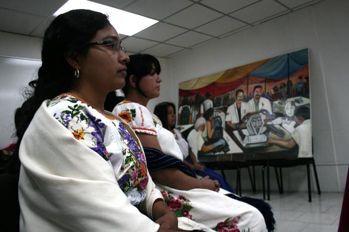 Foto: La Voz de Michoacán. La campaña será con motivo del primer aniversario de la Declaración Americana sobre los Derechos de Los pueblos Indígenas.