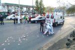 Foto: La Voz de Michoacán. Una menor murió atropellada en la Avenida Madero Poniente de Morelia.