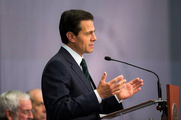 Foto: Presidencia de la República. Soberanía y protección de los mexicanos guiarán la relación con EUA: Peña Nieto.