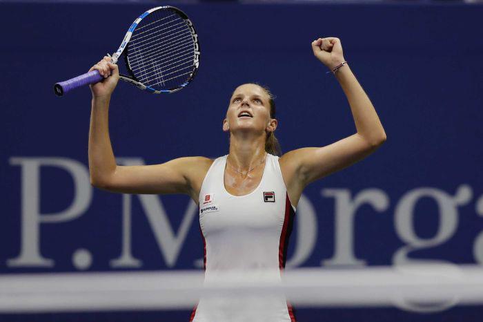 Foto: Abc. La tenista checa ha logrado un gran desempeño en el Abierto de tenis de Australia.