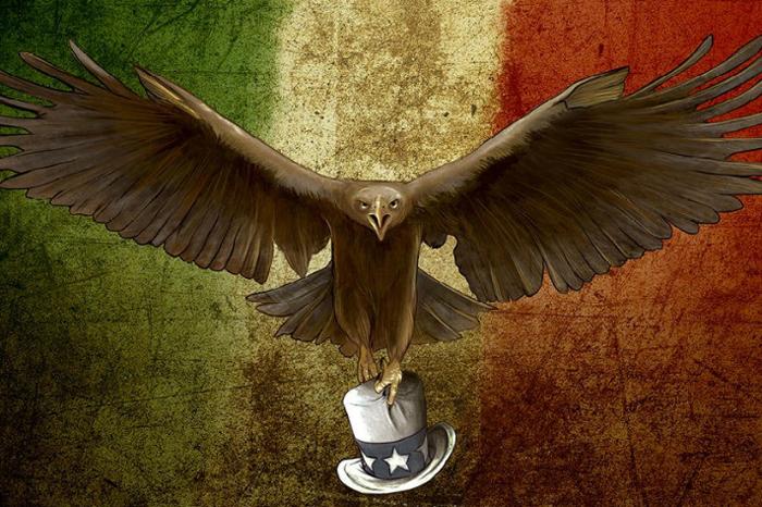 Imagen tomada de Twitter. En redes se difunde una campaña en pro de México, ante las amenazas del presidente  de Estados Unidos, Trump.