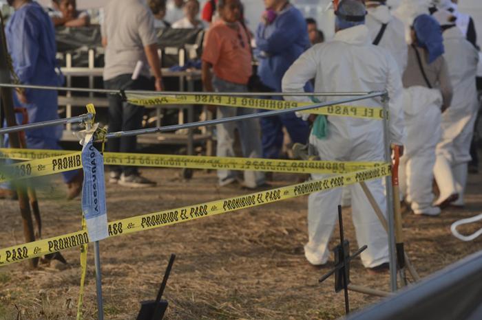 Foto: El gráfico. Entregan a familiares cadáver exhumado en Tetelcingo.
