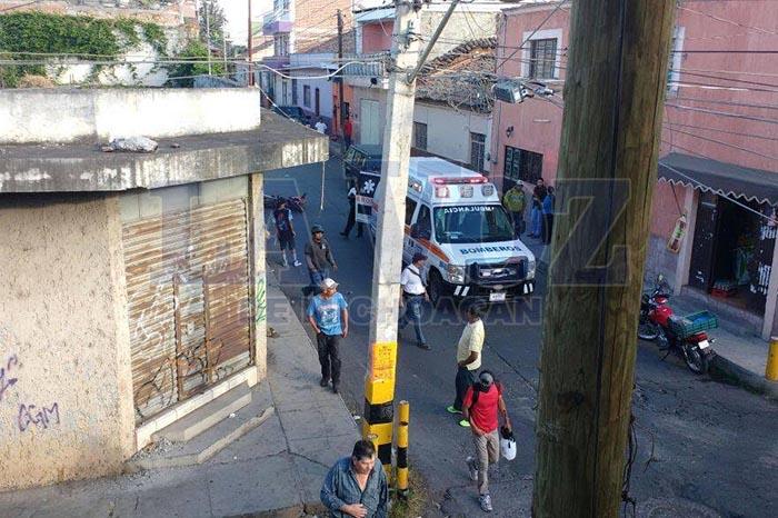 Foto: La Voz de Michoacán Motociclista esta grave luego de ser arrollado