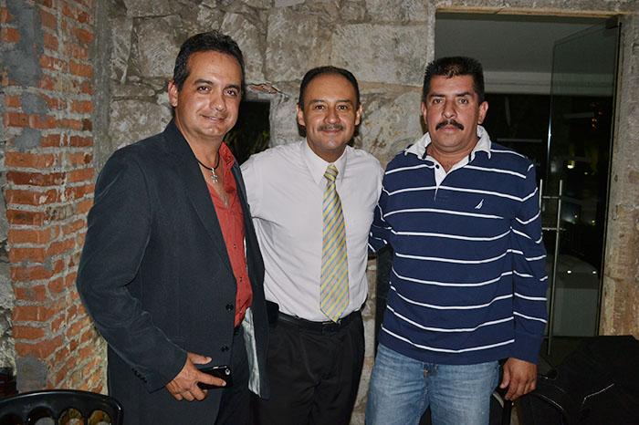 08 Heraclio Moreno, José González y Salvador Sandoval