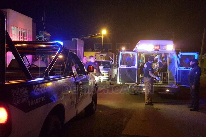 JACONA Grave desconocido baleado en Jacona (1)