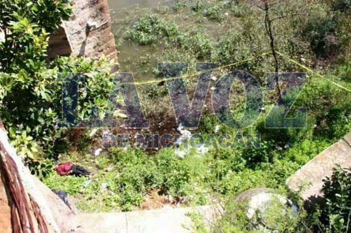 LA PIEDAD Encuentran cadáver debajo del Puente Cavadas