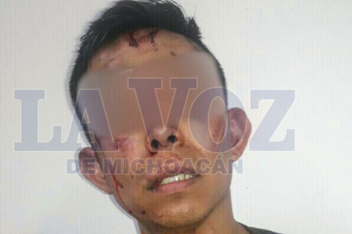 TARÍMBARO Presunto delincuente buscaba objetos de valor y sufre una golpiza