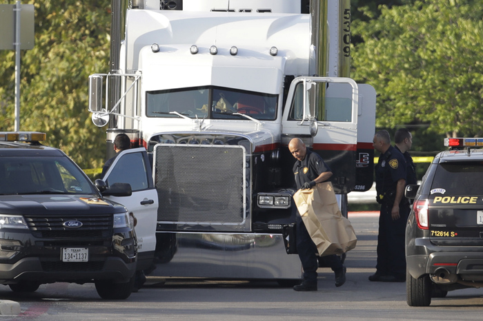 Tractor Trailer Trafficking Deaths