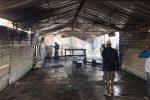 Foto: La Voz de Michoacán. Al poniente de la ciudad un humilde templo ardió en llamas.
