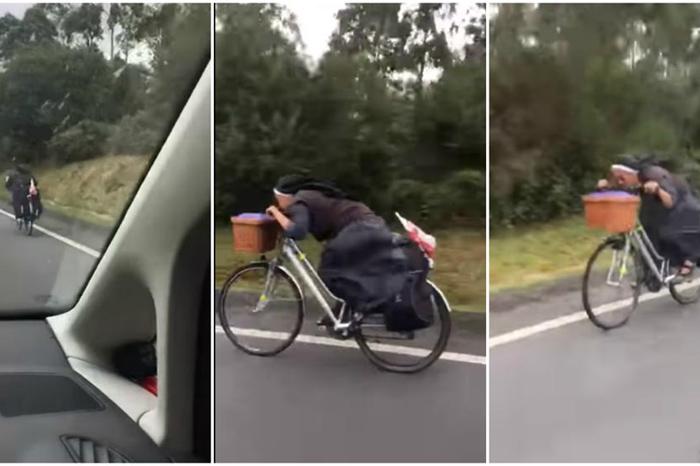 monja bici