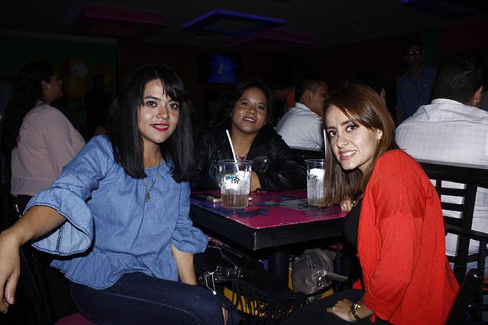 Foto: Erika Conejo. Raquel Tepichi, Rebeca Tepichi y Mariana Guzmán.