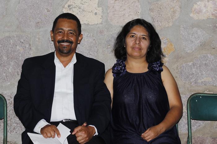 Cecilio Marín y Patricia Gallardo