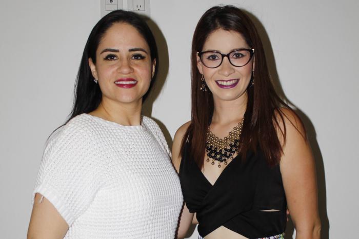 Karina Ledesma y Lucero García