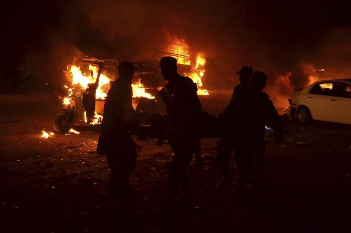 APTOPIX Pakistan Blast