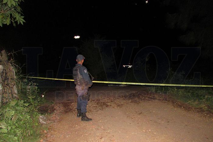 ZAMORA Hallan otro ejecutado en el Camino a Los Espinos (5)