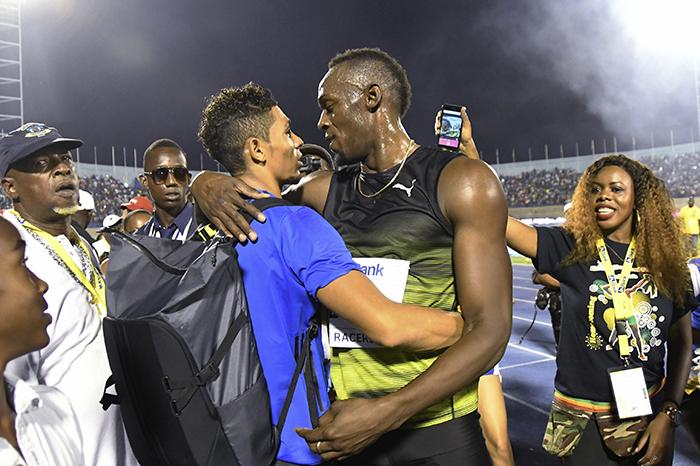 Usain Bolt,Wayde van Niekerk
