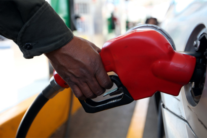 La foto las quemaduras por la gasolina