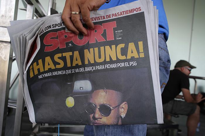 Spain Soccer Neymar