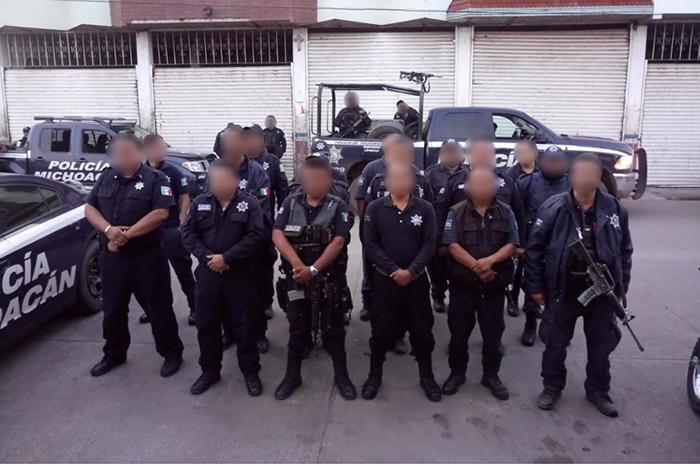Policías de Sahuayo y Jiquilpan regresan a sus municipios