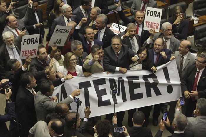 APTOPIX Brazil Political Crisis
