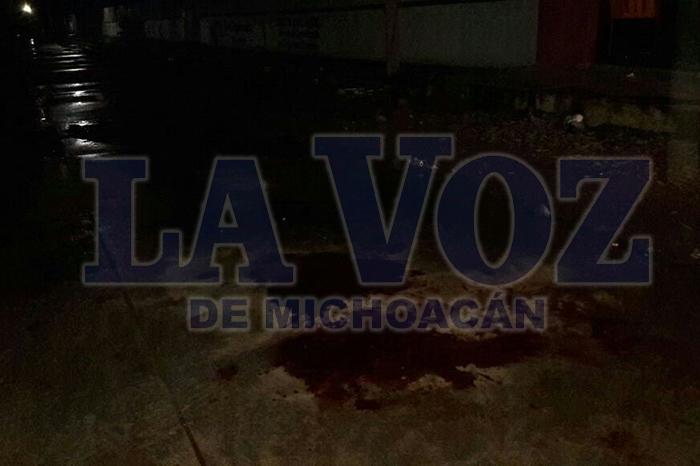 APATZINGÁN Joven muere camino al hospital en Apatzingán, tras agresión a balazos (1)