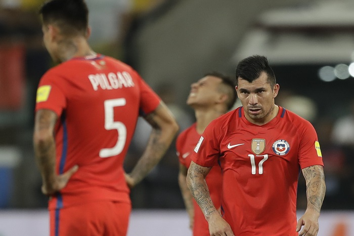 Brazil Chile Soccer Wcup