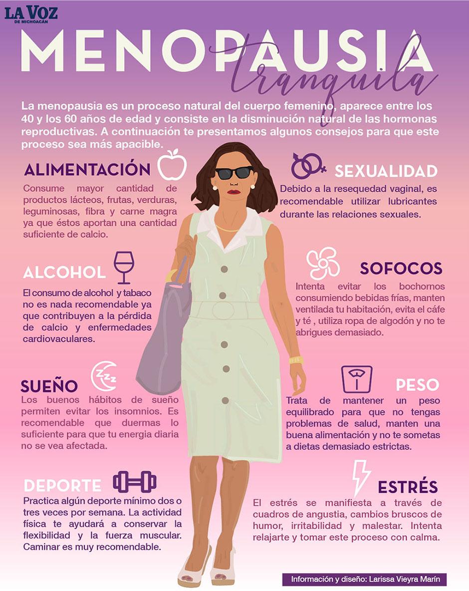 a que edad se presenta la menopausia