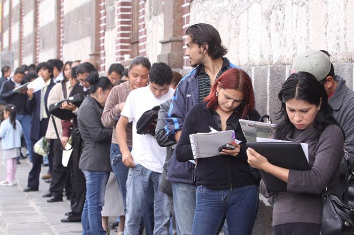 En febrero, tasa de desempleo a la baja