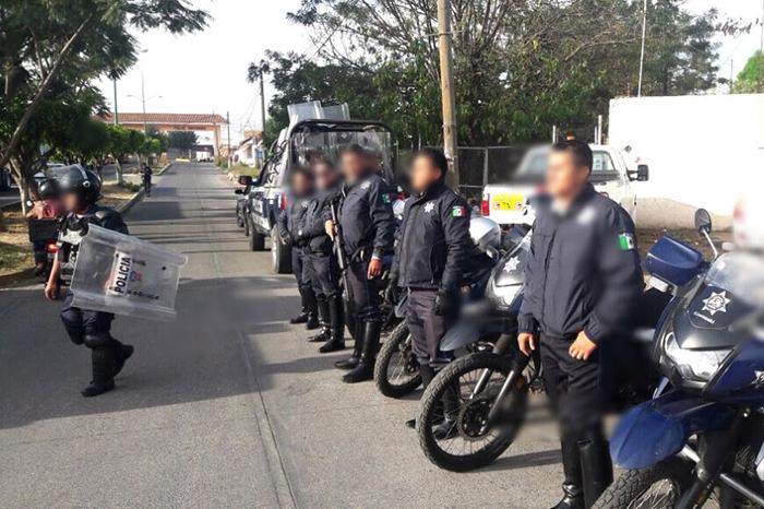 polis manifestaciones