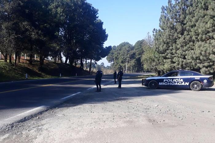 Refuerzan operativo de vigilancia en regiones Uruapan, Jiquilpan y LC