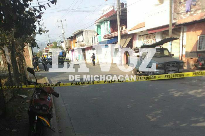 URUAPAN Es muerto a balazos en un consultorio dental en Uruapan