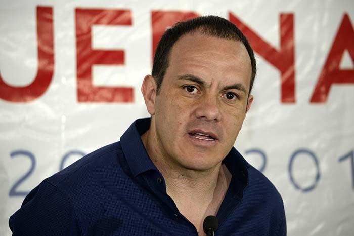 RUEDA DE PRENSA CUAUHTEMOC BLANCO ALCALDE DE CUERNAVACA
