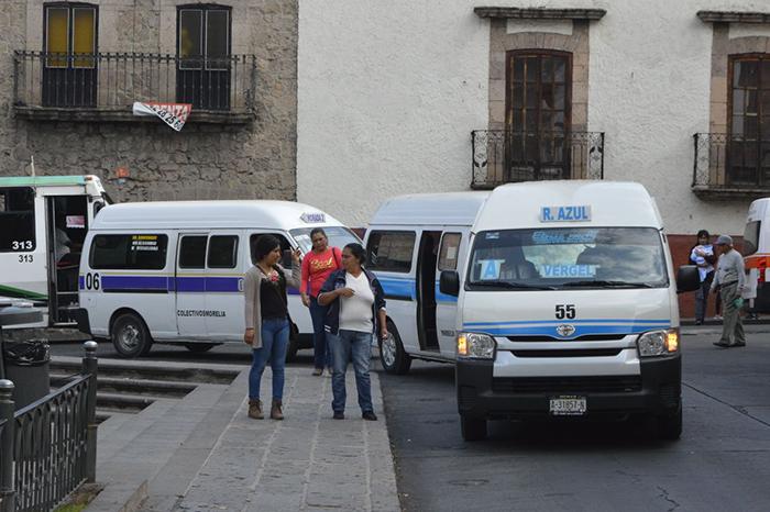 Inminente, aumento a tarifas de transporte público en Morelia