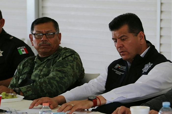 SSP da seguimiento a trabajos de seguridad en la región Jiquilpan