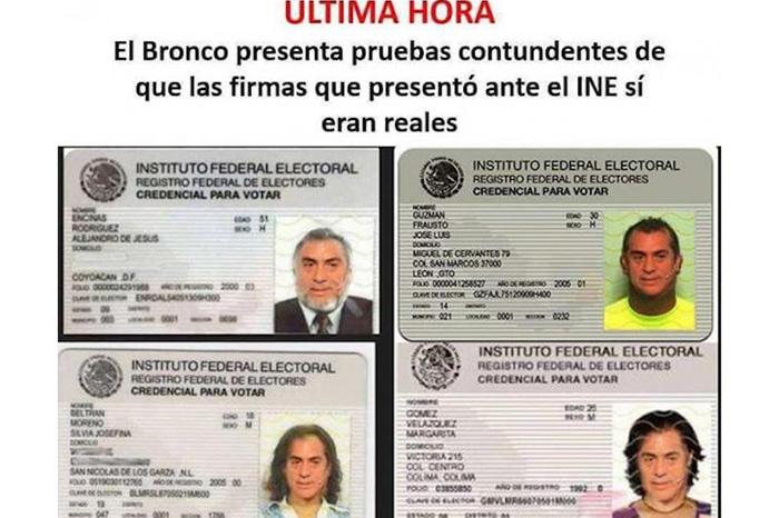 """Se burlan de inclusión de """"El Bronco"""" en boleta electoral"""