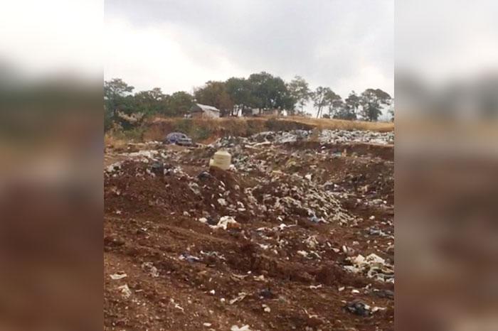 6168c9425dfa Hay que recordar que debido a que desde hace más de tres meses cuando se  prendió el basurero municipal.