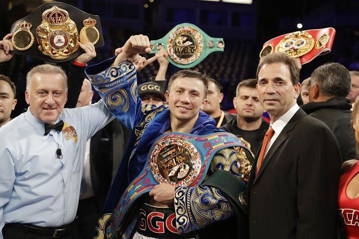 Golovkin Martirosyan Boxing