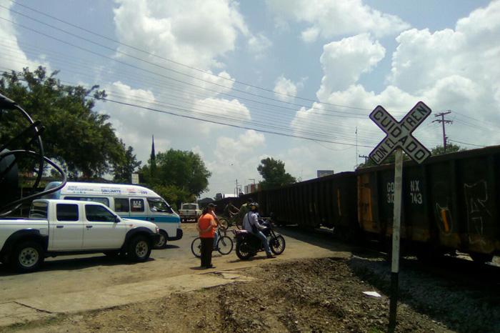 tren en Morelia
