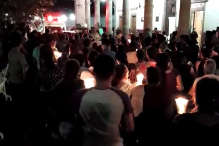 Taratenses marchan para exigir justicia por el asesinato de Alejandro