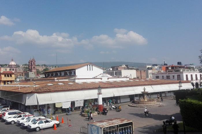 Reconocen riesgo por instalaciones deficientes en Mercado de Jiquilpan