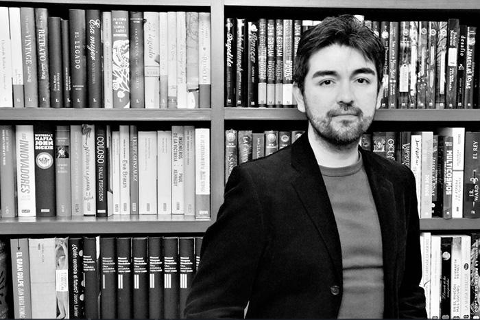 Oscar de Muriel se prepara para escribir su quinta novela